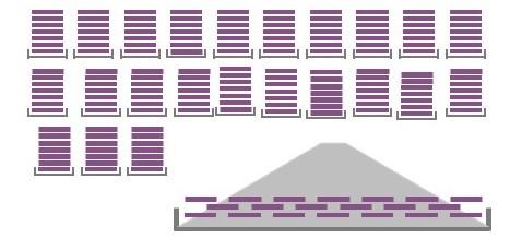 ワイドシークエンス法によるNIPTの解析イメージ画像です。